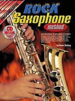 PROGRESSIVE ROCK SAXOPHONE METHOD Book & (Alto)CD