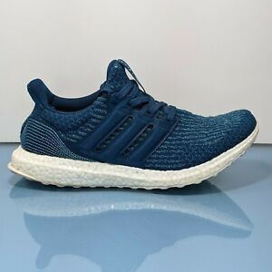 ADIDAS Ultra Boost 3.0 Parley Night Navy Intense Blue Mens Size 10 Shoes BB4762