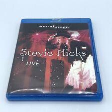 Soundstage Stevie Nicks Live Blu-ray Sound Stage OOP