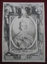 Stefano della Bella: Francesco de Medici 1630/Weapons Waffen Print Radierung