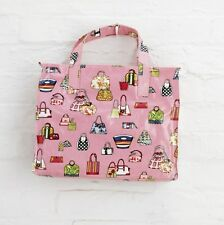 10 x Pink Oilcloth Gym Swimming Shopping Bag  PP11PK Christmas Job Lot Bulk