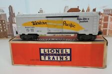 Vintage Postwar Lionel O Gauge No.6464-100 Western Pacific Boxcar With Box
