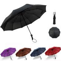 Windproof Waterproof Folding Automatic Umbrella Auto Open/Close Compact Umbrella