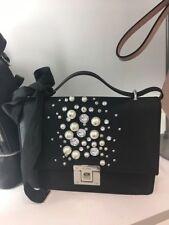Aldo Hiari Cross-body Bag with Pearl Black New With Tag b07e431670302