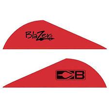 """Bohning Blazer Vanes 2""""  Red, 100 pack"""