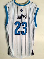 Adidas NBA Jersey New Orleans Hornets Anthony Davis White sz M