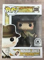 Funko Pop! Indiana Jones - Disney Parks Exclusive #200 NOT MINT W/ STACK I021