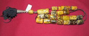 Natural Amber Meditation Prayer - Worry Beads - Komboloi