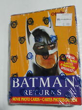 BATMAN RETURNS TRADING CARDS BOX 36 CT 1992 OPC O-PEE-CHEE FACTORY SEALED