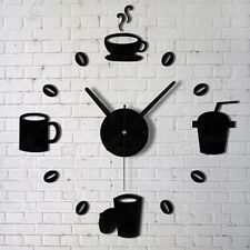 Fashion Acrylic DIY Self Adhesive Interior Wall Creative Decoration Clock