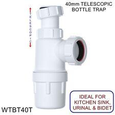 Botella Telescópico 40mm Easi-Flo trampa con 75mm sello WTBT 40T Viva * barato * * Nuevo *