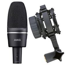 AKG C3000 Studio Condenser Microphone Mic w/Shockmount C-3000