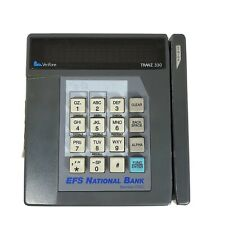 VeriFone Tranz 330 Credit Card Transaction Terminal w/ power cable