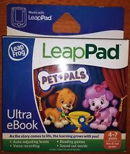 Leapfrog LeapPad PET PALS ULTRA eBOOK Leap Pad 2 3 XDi Ultra 4-7 years Pre-K-1st