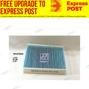 Wesfil Cabin Air Pollen Filter WACF0040 fits Toyota Camry 2.4 VVTi (ACV40R)