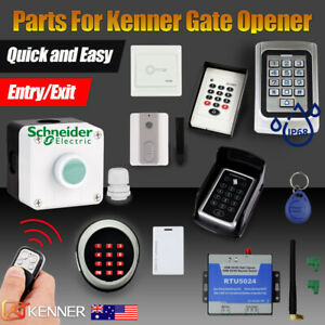 kenner gate opener accessories parts entry remote keypad push button waterproof