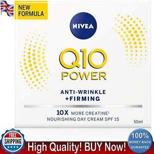 NIVEA Q10 Power Anti-Wrinkle Firming Day Cream SPF15 50 ml Anti Ageing Treatment