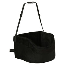 More details for me & my pets soft black car booster seat dog/puppy safety travel carrier bed/bag