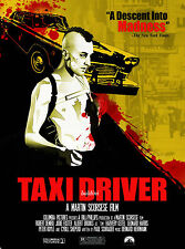 TAXI DRIVER - ROBERT DE NIRO - HIGH QUALITY EARLY VINTAGE  MOVIE POSTER