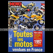 MOTO JOURNAL HS 9612 HORS SERIE ★ CATALOGUE / TOUTES LES MOTOS 1997 ★ SALON