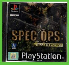 SPEC OPS STEALTH PATROL u-ITA ps1 playstation play1 ITALIA videogame