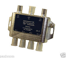 New 3X4 Multi Switch LNB Satellite FTA 4 Outputs Combiner LNBF Dish 3 x 4 CATV