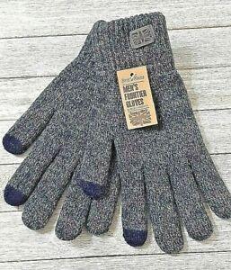 Britt's Knits men's frontier texting gloves gray