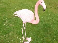 BRAND NEW STANDING FLAMINGO GARDEN ORNAMENT