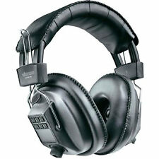 Padded Stereo/Mono Switchable Headphones for Police Scanners or Metal Detectors