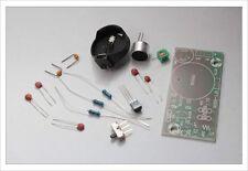DIY electronic Kit - Regenerative FM radio sound transmitter mic kit PCB bug spy