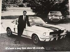 Mustang Shelby Cobra G T 350 Dealer Poster Car