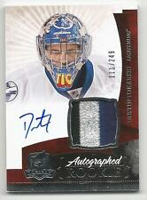 10-11 Dustin Tokarski The Cup Auto Rookie Card RC #147 Jersey Patch 111/249