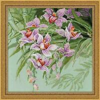Riolis Counted Cross Stitch Kit - Tropical Orchids