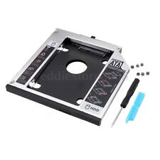 SATA Hard Drive Adapter Bay Caddy For LENOVO R400 T420 T510 12.7mm With Screws
