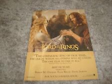 Lord Of The Rings Return Of The King Oscar ad Éowyn with Aragorn Viggo Mortensen