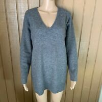 Eileen Fisher Cashmere V Neck Tunic Sweater S