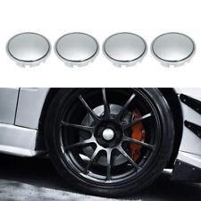 4 X Set 65mm Universal ABS Chrome Car Wheel Center Cap Tyre Rim Hub Cover A6G1