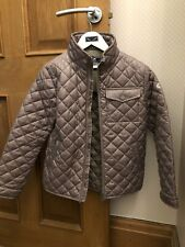 Girls Geox Respira Diamond Quilted Mink Coat Aged 8 Years Excellent Condition