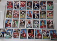 1991 Topps Philadelphia Phillies Team Set of 29 Baseball Cards