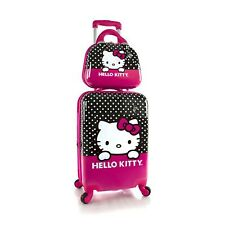 "Hello Kitty Unisex 21"" Spinner Luggage & Beauty Case"