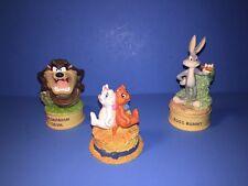 3 Lenox Walt Disney Thimbles Bugs Bunny Tasmanian Devil Aristocrats