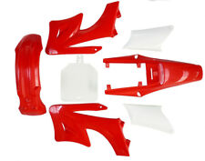 Motorcycle Dirt Bike Body Plastic Fender For Apollo Orion 110cc 125cc 150cc Red