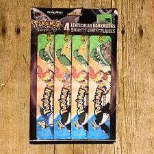 Pokemon Lenticular Bookmarks Pack Of 4