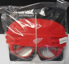 Detroit Red Wings Game Shades. Hockey Helmet Shaped. Pretty Neat  #X-500