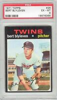 Bert Blyleven Twins HOF 1971 Topps Baseball #26 Rookie Card rC PSA 6 EX-Mint QTY