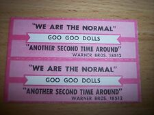 "2 Goo Goo Dolls We Are The Normal Jukebox Title Strip CD 7"" 45RPM Records"