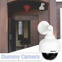Fake Dummy Outdoor Waterproof Security Surveillance Flash Dome Camera CCTV