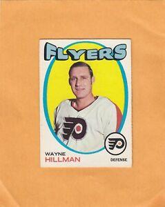 1971-72 O PEE CHEE WAYNE HILLMAN NO:62 near mint see scan  LOT 221