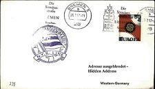 JAPAN Schiff Schiffspost Nippon NYK Line ab BREMEN 1967 Seepost Shipletter Ship