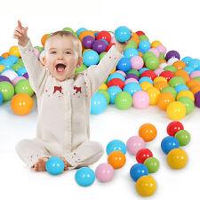 50 Stück Bunte Farben Kinderbälle Spielbälle Bällebad Kugelbad Bälle 55mm